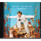 Cd Elton Jonh   One Night Only