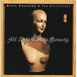 Cd Elvis Costello All This Useless Beauty Original Importado