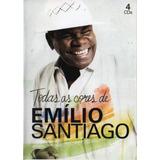 Cd Emílio Santiago   Todas As Cores   4 Cds