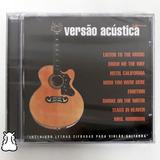 Cd Emmerson Nogueira Versão Acústica 2002 Novo Lacrado