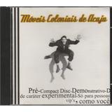 Cd Ep Móveis Coloniais De Acaju   2000   4 Músicas