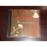Cd Erasure Wonderland P 1990 Primeira Ediçao