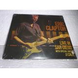 Cd Eric Clapton   Live In San Diego Jj Cale 2016 Br Lacrado