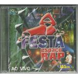 Cd Espaço Rap Festa Ao Vivo 2006 Lacrado