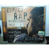 Cd Espaço Rap Internacional105 Fm Vol 1 Funk Hip Hop Black