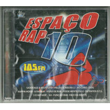 Cd Espaço Rap Volume 10 2005 Lacrado
