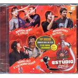 Cd Estúdio Coca Cola Com Nx Zero Cpm 22    Novo Lacrado Raro