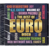 Cd Euro Disco The Best Of 2 Modern Talking Bad Boys Frete 12