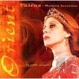Cd Fairuz Modern Favorites Orient