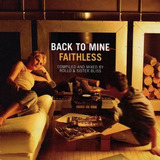 Cd Faithless Back To Mine Importado Novo  dido  adamski