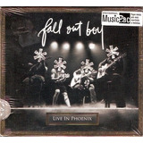 Cd Fall Out Boy   Live In Phoenix   Digipac