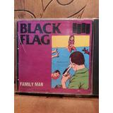 Cd Family Man Black Flag Original Raro