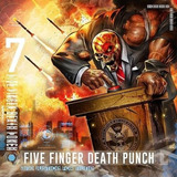 Cd Five Finger Death Punch And Justice For None  indie  Novo