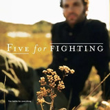 Cd Five For Fighting   The Battle For Everythin  import  Eua