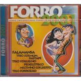 Cd Forró 2001 Falamansa Trio Virgulino Rastapé Trio Jerimum