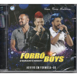 Cd Forró Boys    Ao Vivo Em Formosa   Go