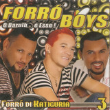 Cd Forró Boys   Forró Di Katiguria Vol 3