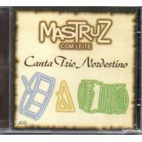 Cd Forró Mastruz Com Leite   Canta Trio Nordestino
