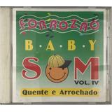 Cd Forrozao Baby Som Vol Iv   A2