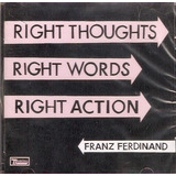 Cd Franz Ferdinand   Right Thoughts