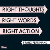 Cd Franz Ferdinand Right Thoughts Righ Words Novo Lacrado