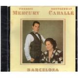 Cd Freddie Mercury E Montserrat Caballé Original Lacrado