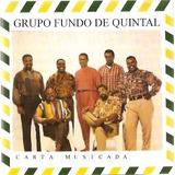 Cd Fundo De Quintal   Carta Musicada