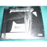 Cd Furious 7 Velozes E Furiosos 7 Trilha Sonora Novo Lacrado