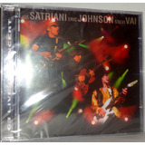 Cd G3   Live In Concert   Satriani  Eric Johnson  Steve Vai