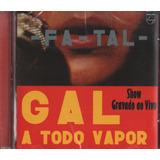 Cd Gal Costa Fatal A Todo Vapor Remaster Ed 2010 Lacrado