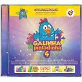 Cd Galinha Pintadinha Vol 4   Original Lacrado