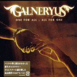 Cd Galneryus One For All all For One Importado