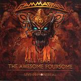 Cd Gamma Ray Hell Yeah Live 2008 Novo Import Alemanha Zerado