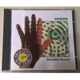 Cd Genesis   Invisible Touch   Importado   1986