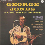 Cd George Jones   A Good Year For The Roses   Semi Novo