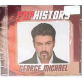 Cd George Michael   Pop History Greatest Hits  lacrado