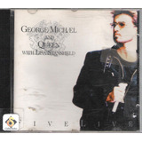 Cd George Michael And Queen   Five Line