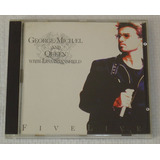Cd George Michael And Queen  Five Live 1994