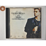 Cd George Michael And Queen Five Live Lisa Stansfield   K1