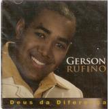 Cd Gerson Rufino   Deus Da Diferença