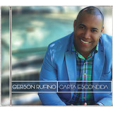 Cd Gerson Rufino Carta Escondida Bônus Pb Bl23
