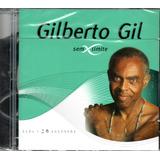 Cd Gilberto Gil   Série Sem Limite Cd Duplo 30 Sucessos