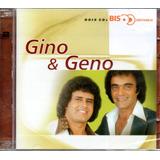 Cd Gino E Geno   Série Bis Dois Cds