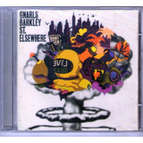 Cd Gnarls Barkley St  Elsewhere Dont Walk Live  usado