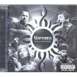 Cd Godsmack Live E Inspiresd