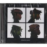 Cd Gorillaz Demon Days 2005 Emi Lacrado