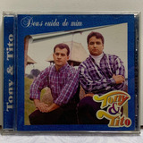 Cd Gospel Original   Tony & Tito   Deus Cuida De Mim