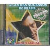 Cd Grandes Sucessos Do Brasil   Sidney Magal   Nov