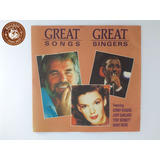 Cd Great Song Great Singers Kenny Rogers Tony Bennett A8