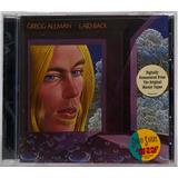 Cd Gregg Allman Laid Back 1973 Americano Remastered Lacrado
